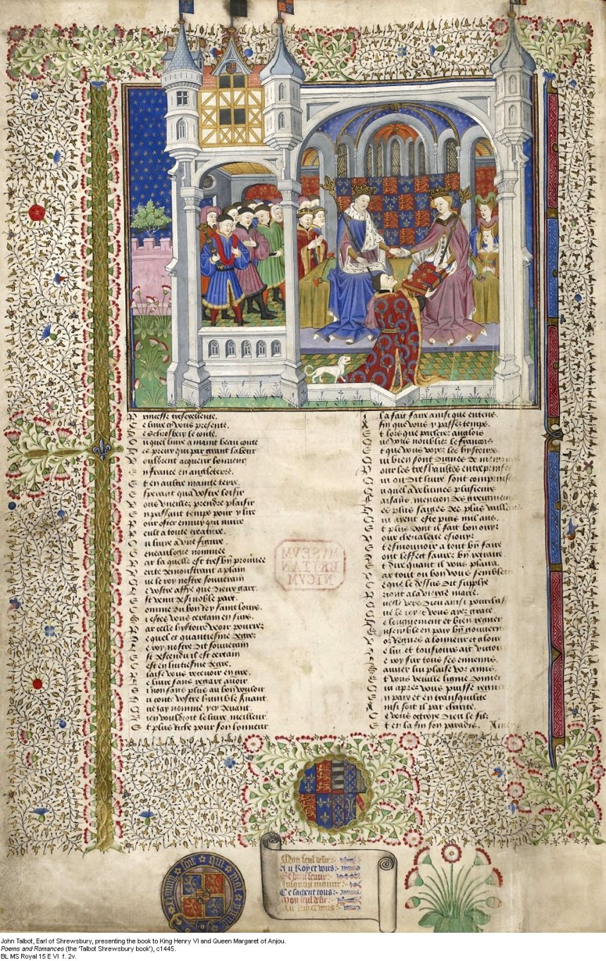 Margaret of Angou illumination