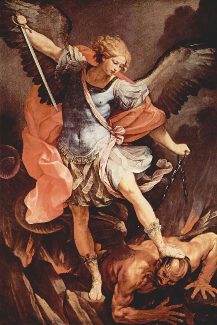 michael victorious over satan