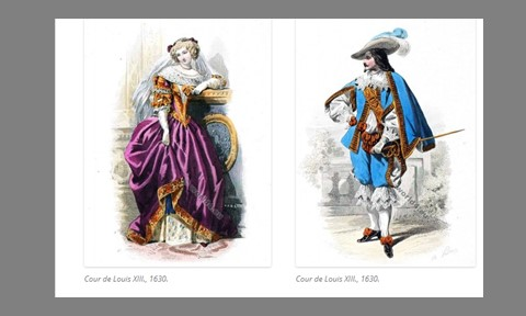 costumes of Louis XIII
