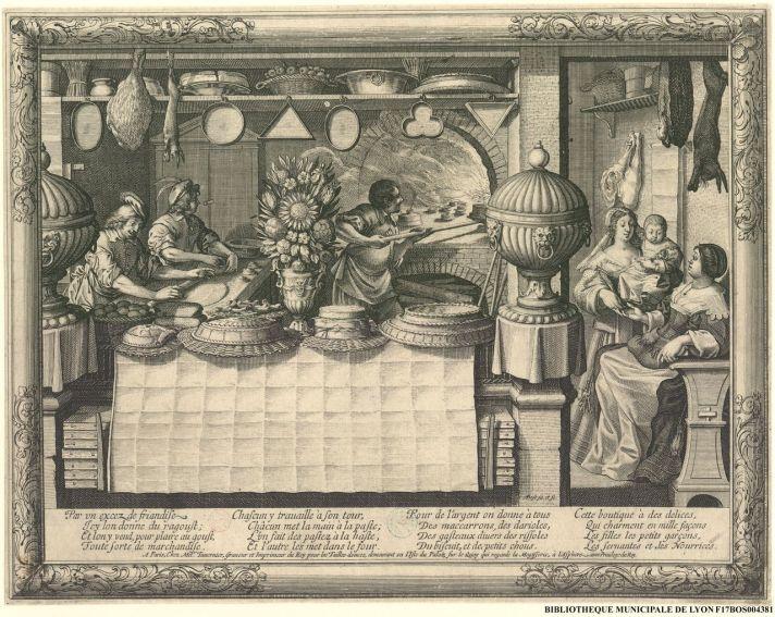 le patissier abraham bosse 1602 to 1676